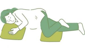 posisi tidur saat hamil